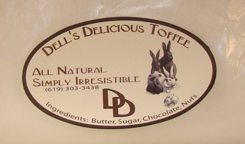 Dells Toffee Info