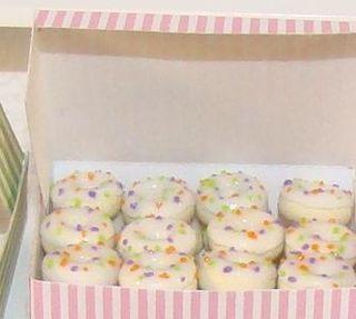 Sprinkled Halloween Donuts